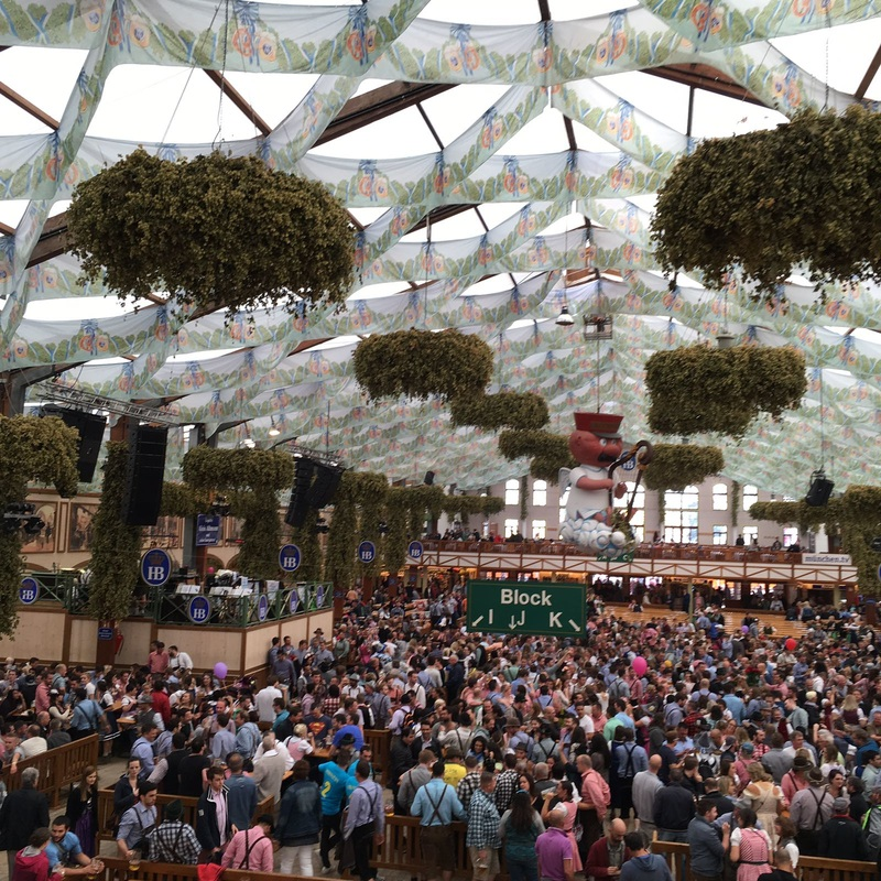 Oktoberfest 2016 Beer tour, tent reservations